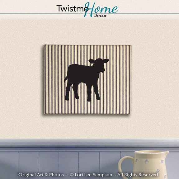 Twistmo Cute Calf Wall Hanging