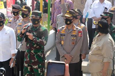 Dukung Ketahanan Pangan, Kapolri dan Panglima TNI Rasmikan Kampung Tangguh Nusantara