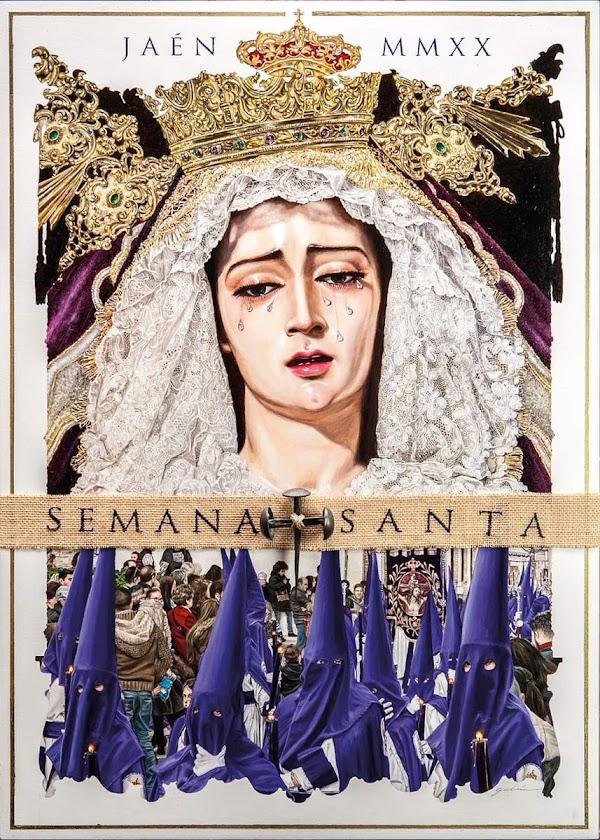 Cartel de la Semana Santa de Jaén 2020 obra de Francisco Galán