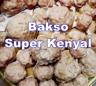 Bakso Sapi Kenyal