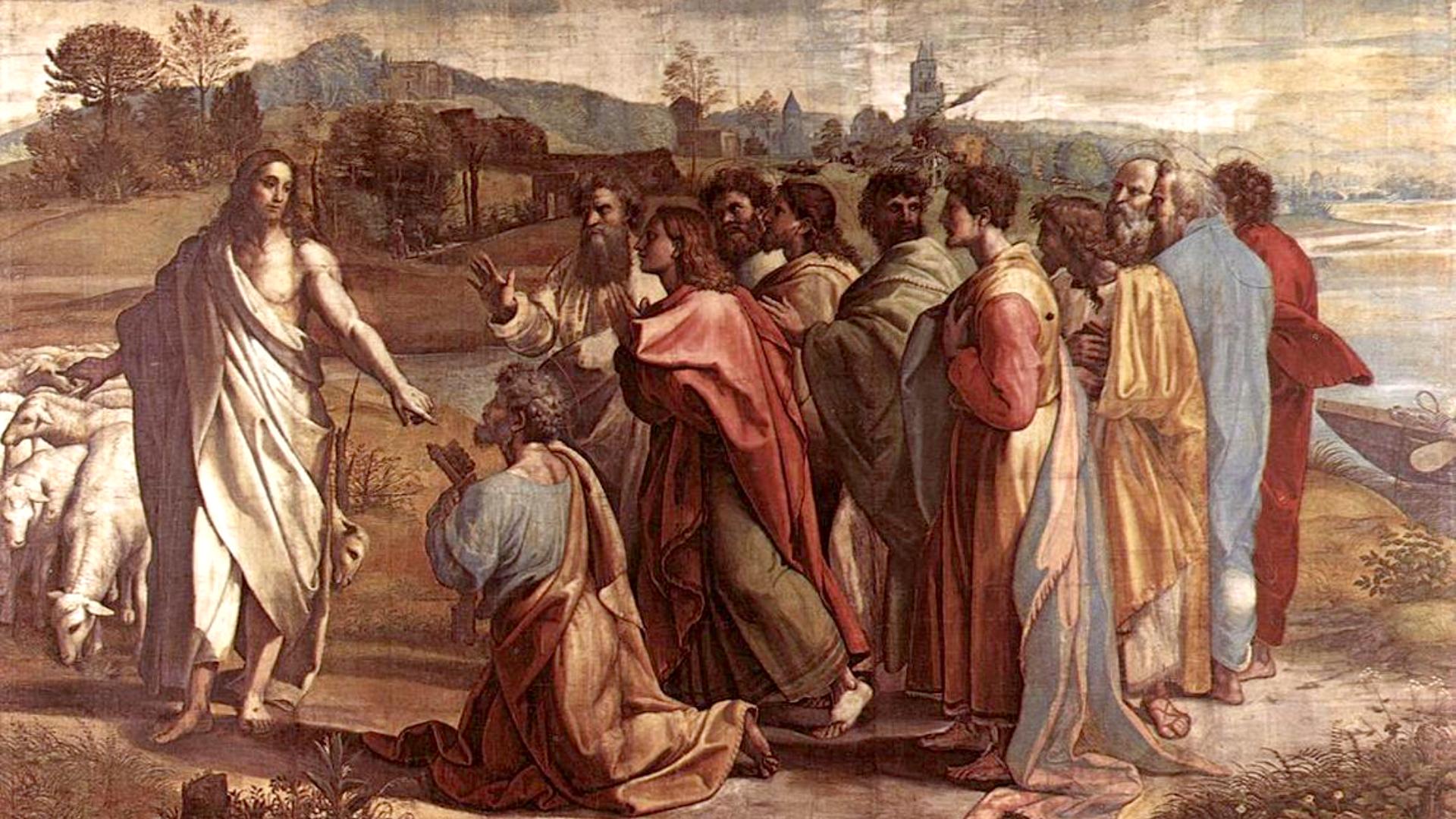 O Encargo de Cristo para com São Pedro