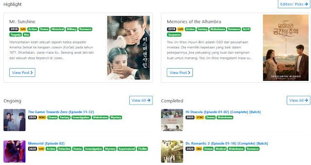 ibu sepertinya sebegitu menikmati drama Korea 7 Situs Nonton Drama Korea Subtitle Indonesia Gratis