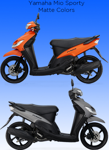 Mio Sporty Matte Orange