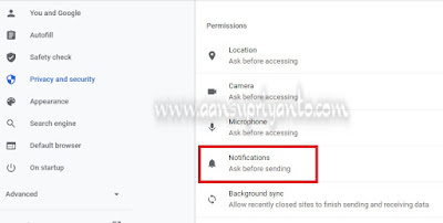 Cara Menghilangkan Iklan Pop Up en.savefrom.net di Google Chrome