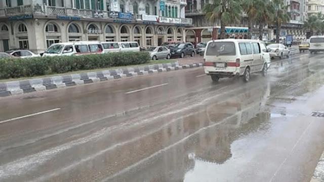 الأرصاد| أمطار غزيرة ورياح مثيرة للأتربة غداً الثلاثاء والعظمى بالقاهرة 16