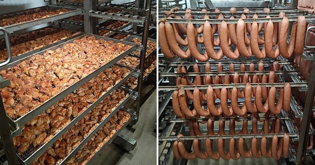 Работник завода раскрыл, из чего на самом деле состоит колбаса, подтвердив самые страшные догадки