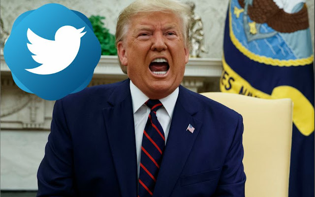 United States's President Donald Trump's Twitter Account Has Been Suspended Permanently.