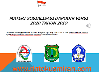 materi sosialisasi dapodik versi 2020