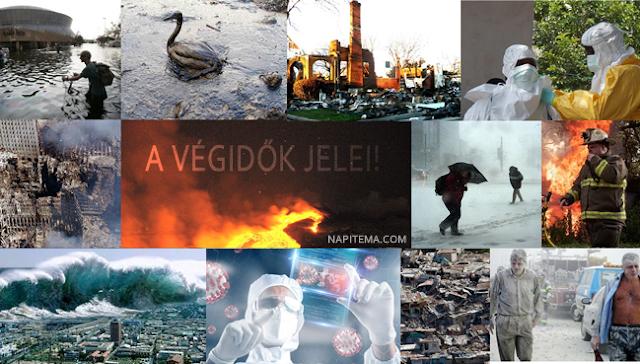 A végidők jelei! Minden katasztrófa és probléma ami történik a bolygón vagy velünk, az pontosan annak a következményei, ahogyan élünk és gondolkodunk. Videók