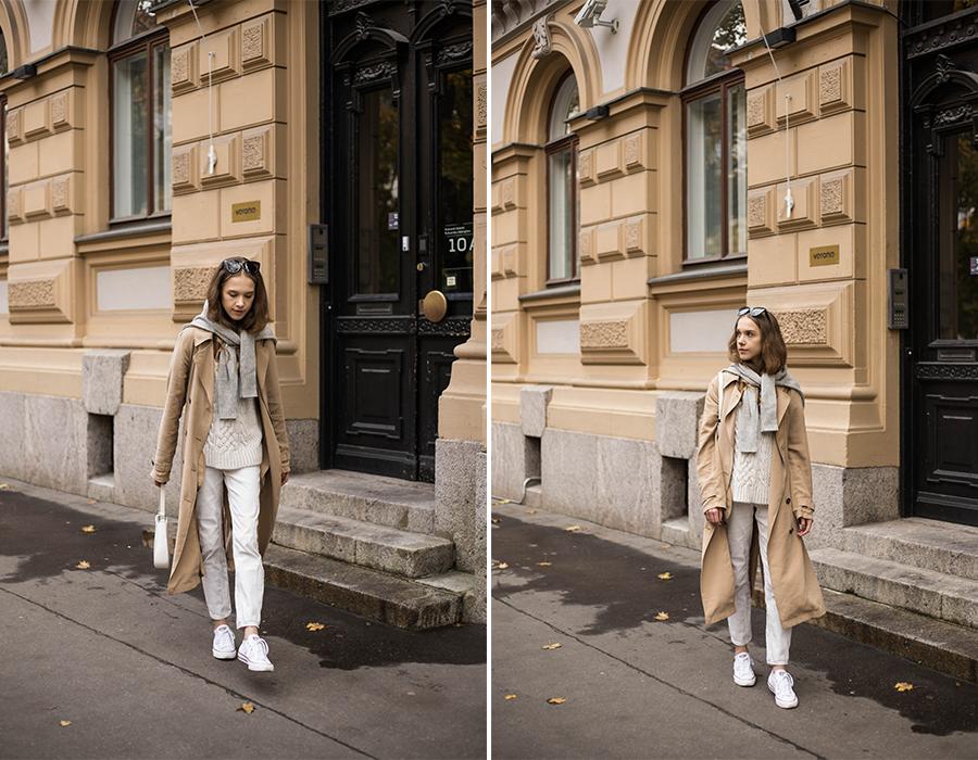 Trendikäs tapa pukeutua neuleeseen // Trendy way to style knitwear for autumn