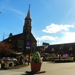 A Igreja São Pedro, em Gramado
