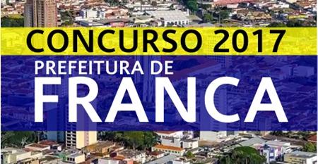 Apostila Prefeitura de Franca SP 2017