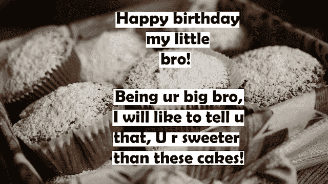 Happy birthday images for little brother