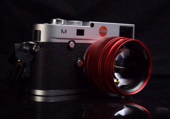 Segera hadir: Lensa edisi terbatas 7Artisans 50mm f / 1.1 merah untuk Leica M-mount