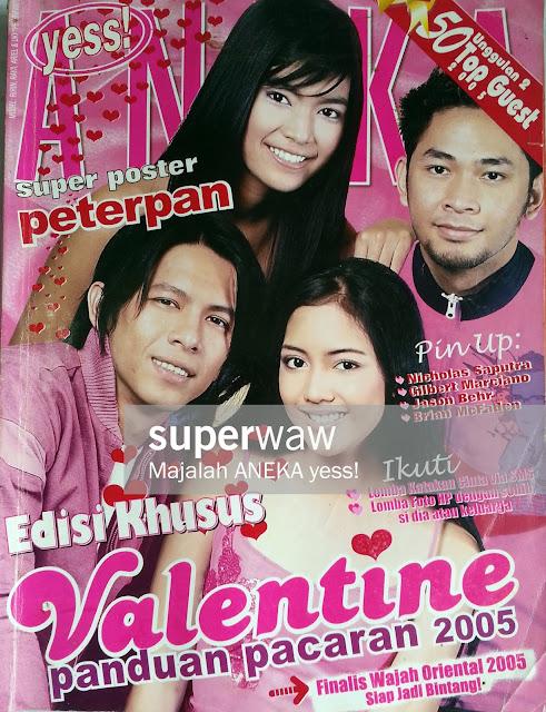 Majalah Cover Ariel Peterpan