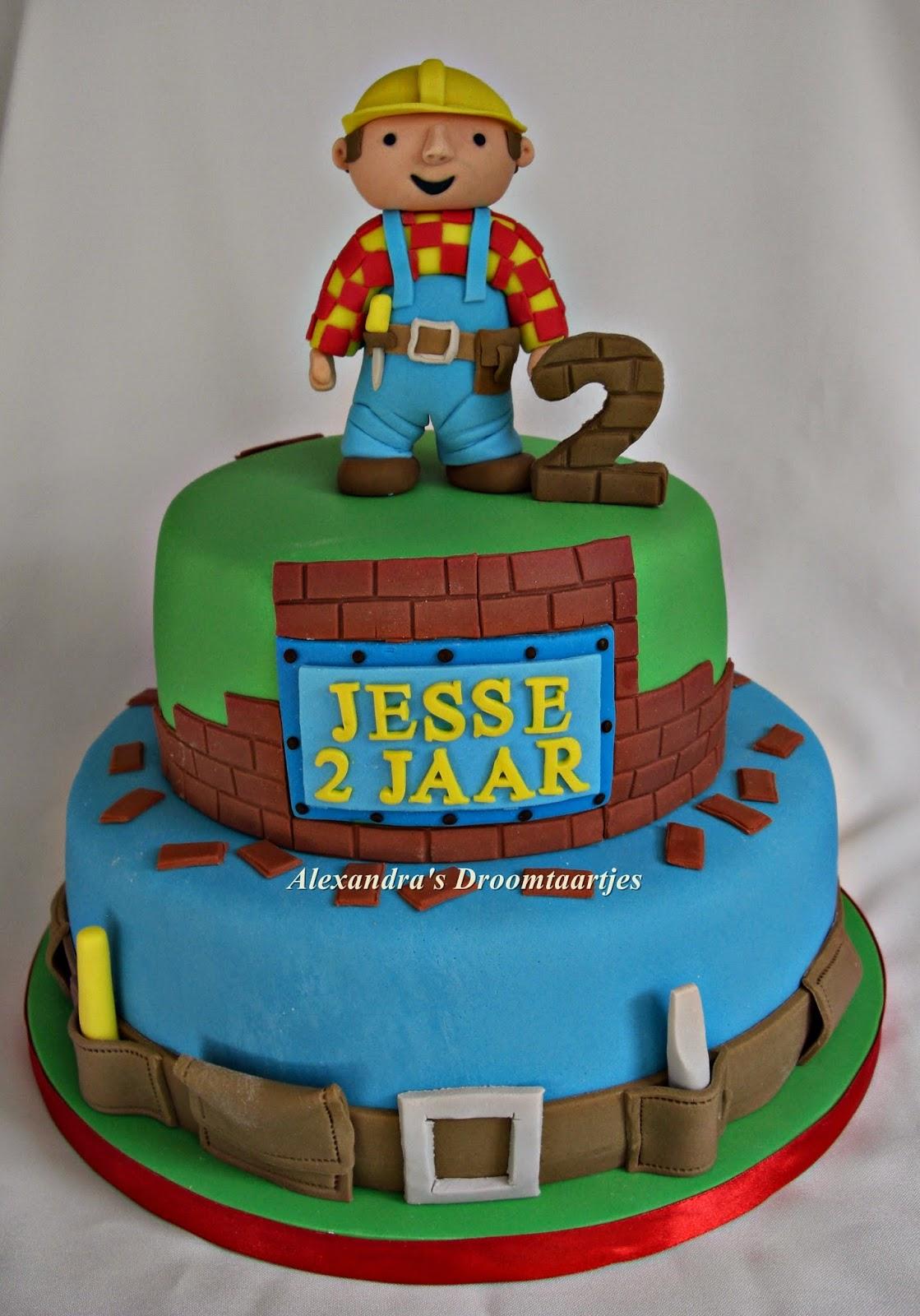 bob de bouwer taart maken Bob de Bouwer taart / jongen van 2 jaar | Alexandra's droomtaartjes bob de bouwer taart maken