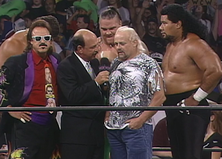 WCW Clash of the Champions 33 1996 REVIEW - Dungeon of Doom promo