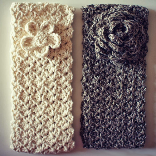 Headband And Flower - Free Pattern