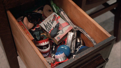 A Christmas Story Drawer of Confiscated Toys