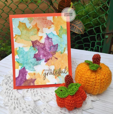Truly grateful by Cardogram features Shades of Autumn by Newton's Nook Designs; #newtonsnook