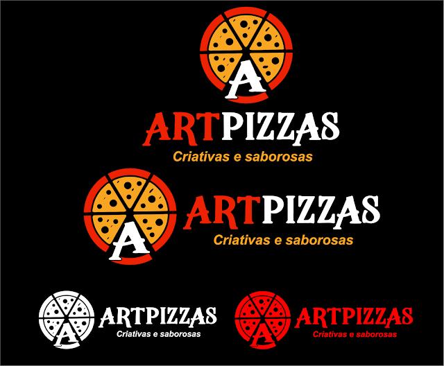 Logo para empresa de pizza- Travessão de Barra -SFI