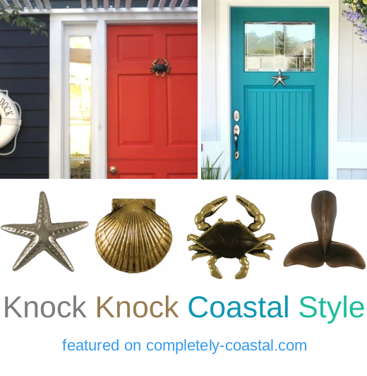 Coastal Nautical Door Knockers