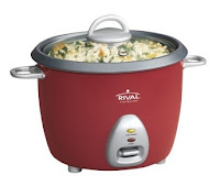 Rival RC61 Small Rice Cooker - Red