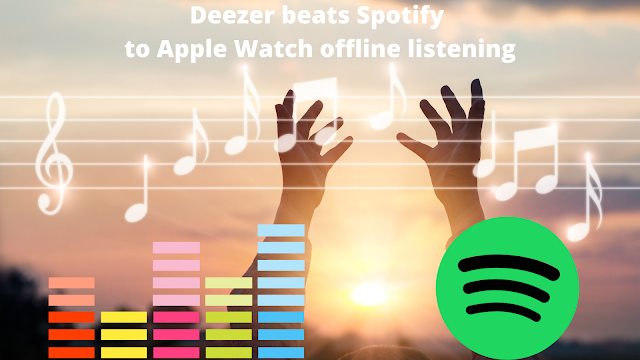 Deezer beats Spotify to Apple Watch offline listening