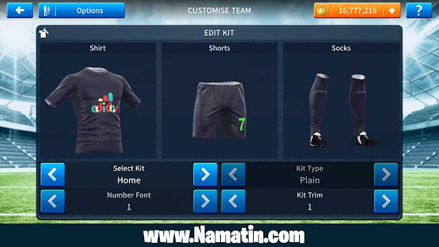Kaos Dream League Soccer Adidas Link