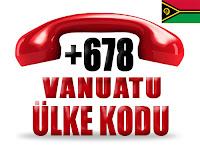 +678 Vanuatu ülke telefon kodu
