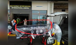1 penumpang memiliki ciri-ciri suspect corona virus