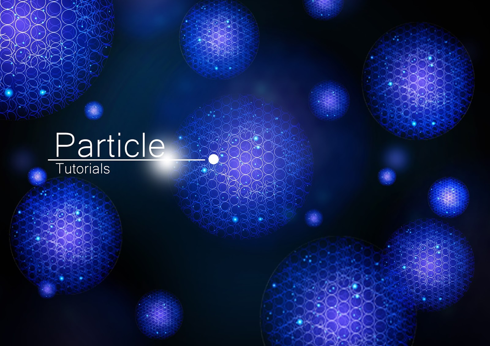 Tutorial creating a blue particle background using adobe if you want to print this template you can simply change the jpg format in photoshop to cmyk tutorial this is a very useful tutorial for you beginner baditri Image collections