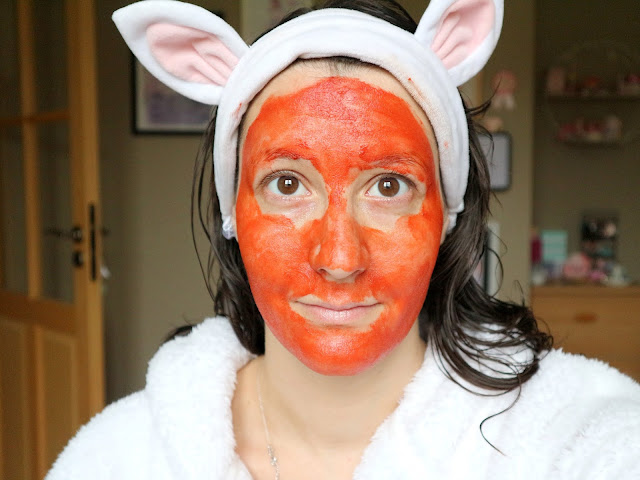 L'efficacité du red pepper paste mask