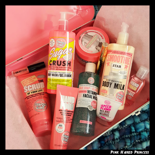 soap and glory the whole glam lot boots star gift