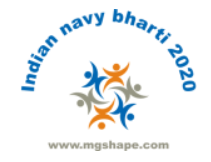 Indian navy recruitment 2020