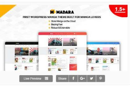 Download Madara WordPress Theme Comic for Manga