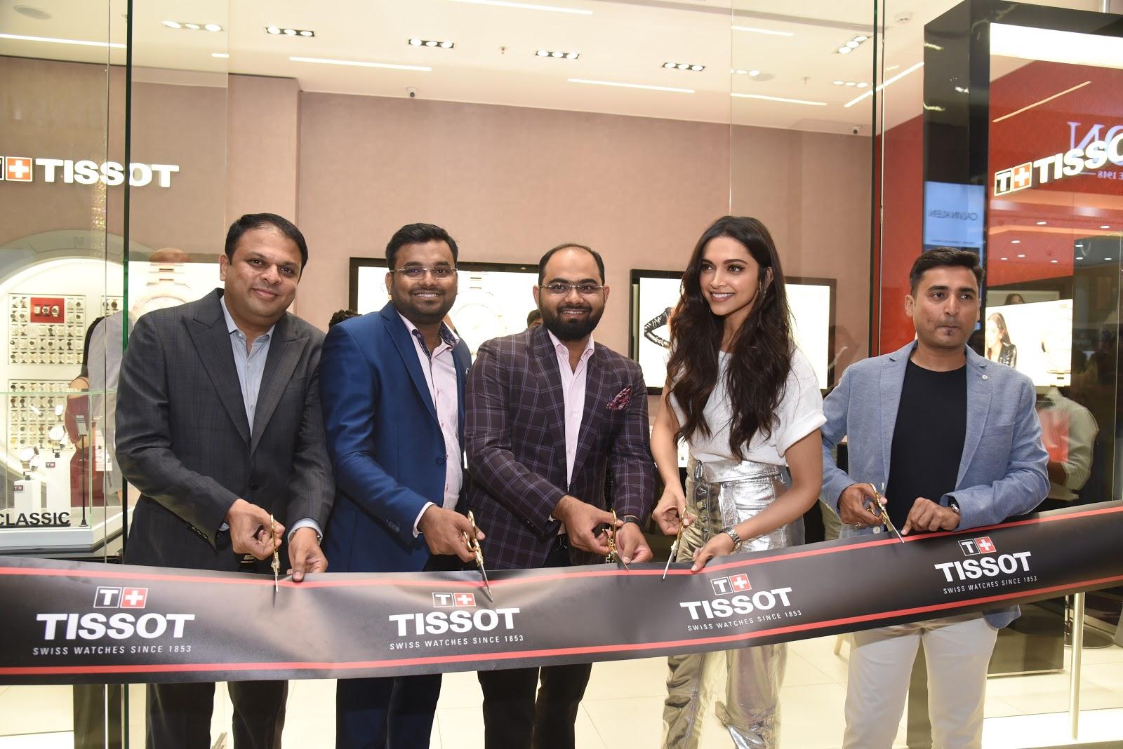 Deepika Padukone, Tissot Brand Ambassador launched its new ...