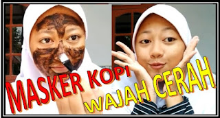 Cara Membuat Masker Kopi Untuk Mencerahkan Wajah