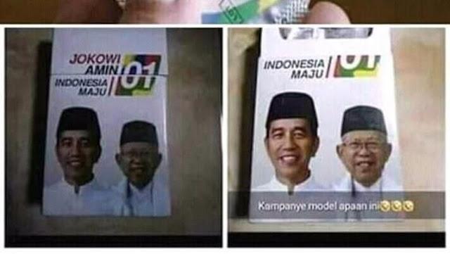 Gambar Jokowi-Maruf Di Kondom, Nasdem: Tidak Ada Toleransi Untuk Kampanye Kotor