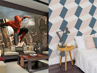 16 Wallpaper 3D yang bikin rumahmu makin unik
