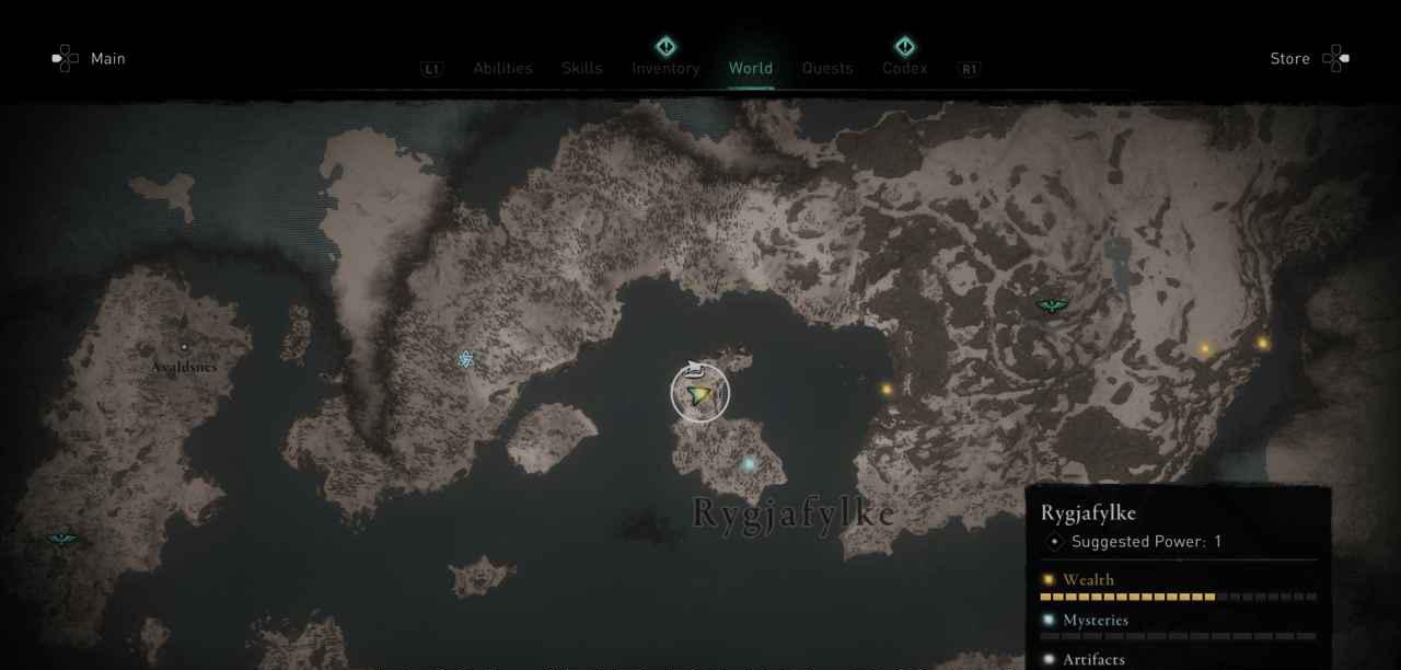 Ingot 9 Map