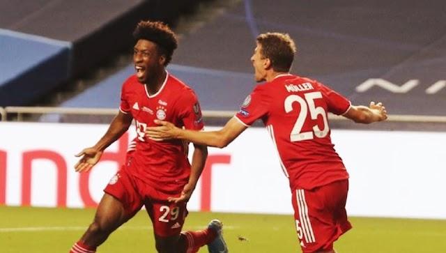 Bayern Munchen Berpesta Paris Saint Germain Berduka