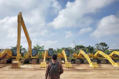 12 Ekskavator Pemprov Riau Bisa Digunakan Satgas Darat Karhutla untuk Membuat Embung