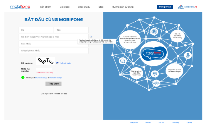 Giải Pháp Mobifone-AI Trí Tuệ Nhân Tạo