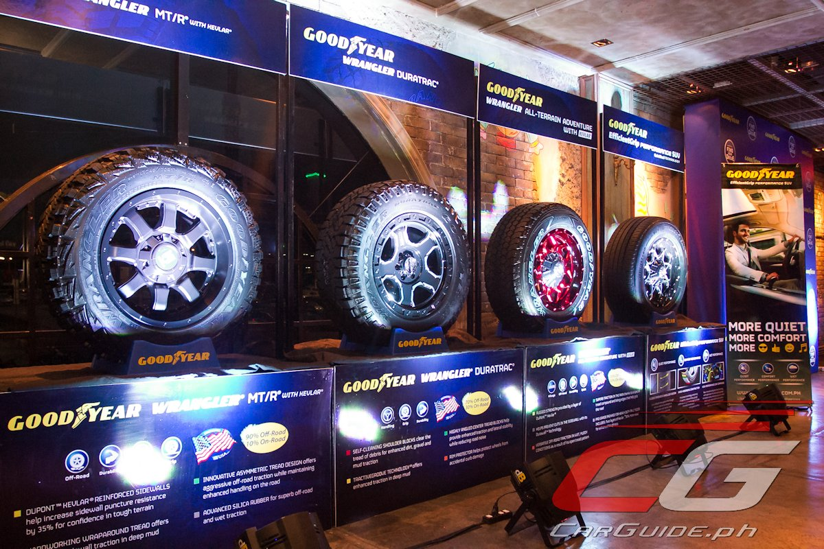 Goodyear Philippines Launches 4 New Suv Tires Designed For Any Kind
