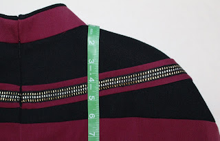 TNG season 2 admiral uniform - yoke