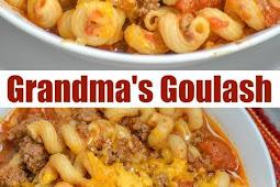 Grandma's American Goulash