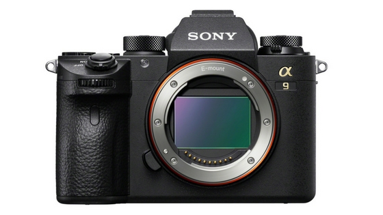 Sony A9 front