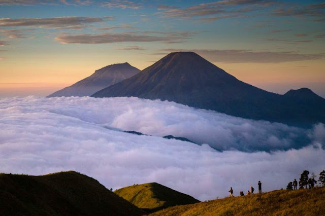 Sindoro Sumbing Mountain Trekking Tour