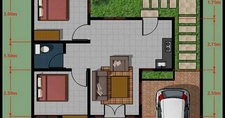 Sketsa Rumah Minimalis Modern Type 36 - Dindin Design